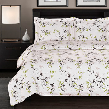 100% Cotton Fern Duvet Cover Sets