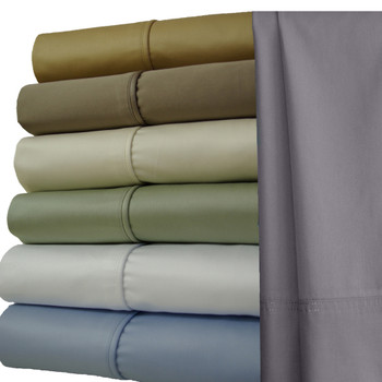 Solid 1000 Thread Count Sheets- 100 Cotton Sheets Set Image Available Colors