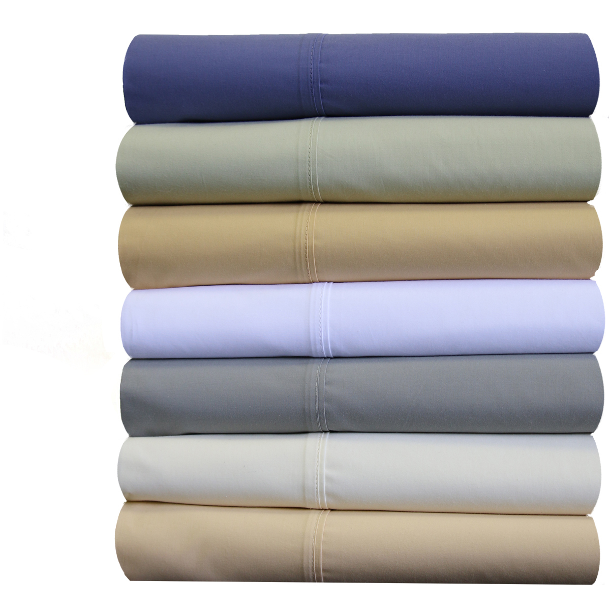 Abripedic Cotton Percale Extra Deep pocket Sheets Breathable Crispy Soft 22 inch Fitted Sheet Sets