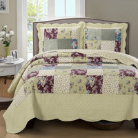 Tania Westlife Fashions Antique Mini Bedspread Set Image