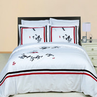 Florence Embroidered Multi-Piece Duvet Set