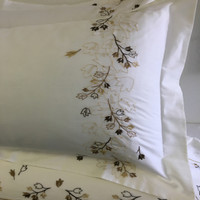 Tasneen 100% Cotton Embroidered Duvet Cover Sets