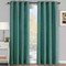 Galleria Room-Darkening Thermal Curtain Panels Tonal Stripe (Single) -Blue