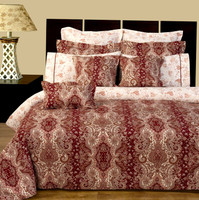 Hampton Floral Print 100% Cotton 11-Piece Bed in a Bag Sets