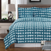 Norwich Combed Cotton Duvet Cover Set
