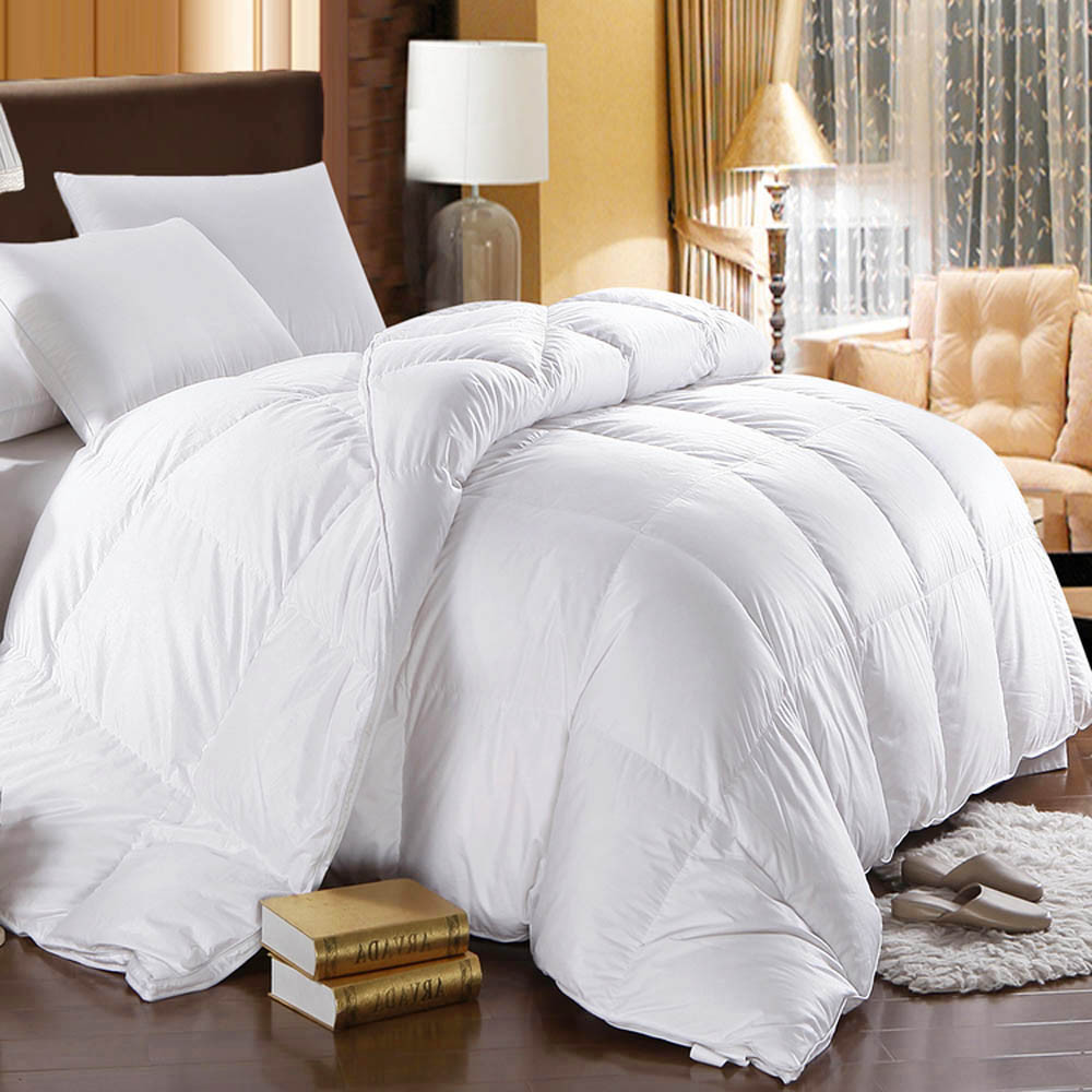 Best White Goose Down Comforter King Queen Size