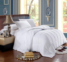 White Down Alternative Comforter All Season Medium Fill Weight Duvet Insert. King size