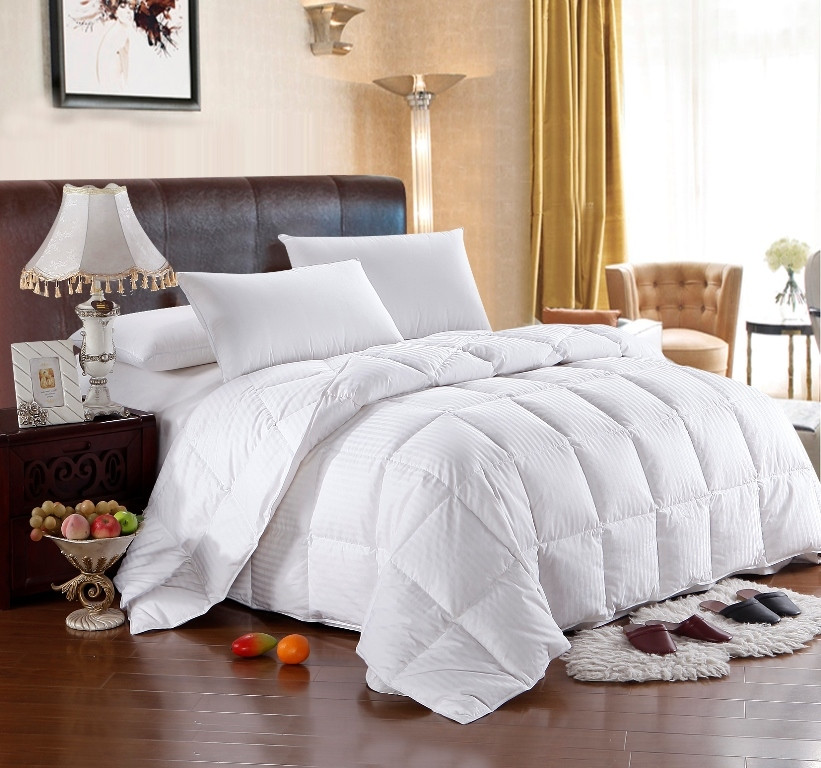 white goose down comforter king size. Black Bedroom Furniture Sets. Home Design Ideas