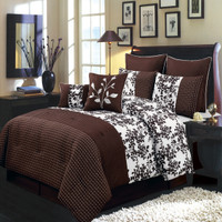 Bliss Coffee Bed in a Bag Bedding Set
