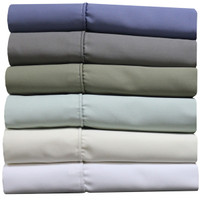 Standard Or King Size Pillowcase Set 1000 Thread Count Cotton Blend (Pair) Available Colors