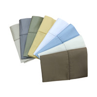 Standard Or King Pillowcases 1200 Thread Count 100% Cotton ( Pair ) Available Colors