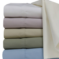 Extra Long Twin Bed Sheets Super Soft 100% Cotton Percale Colors