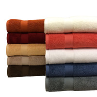 Royal Tradition Plush Combed Cotton 2PC Bath Sheet