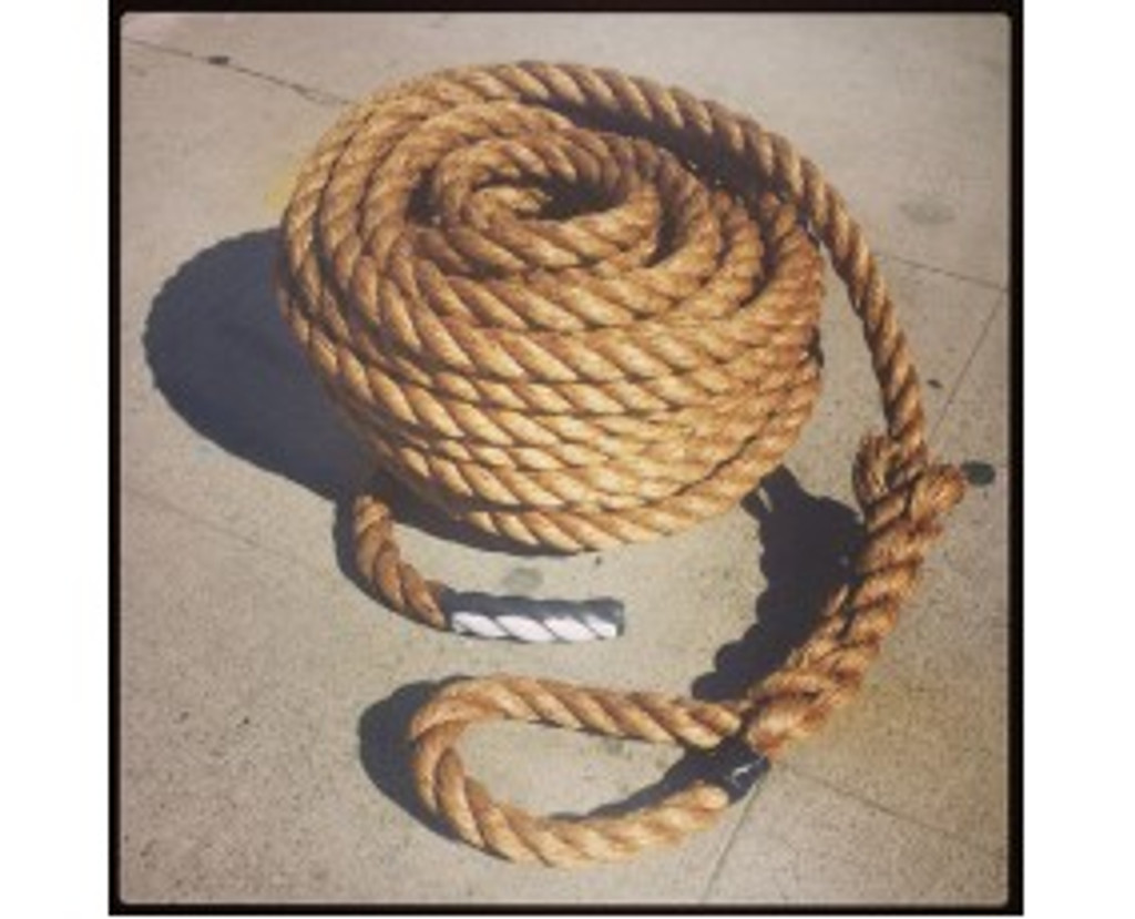 "PMF! 1.25"" Pulling Exercise Rope By Muscle Ropes"