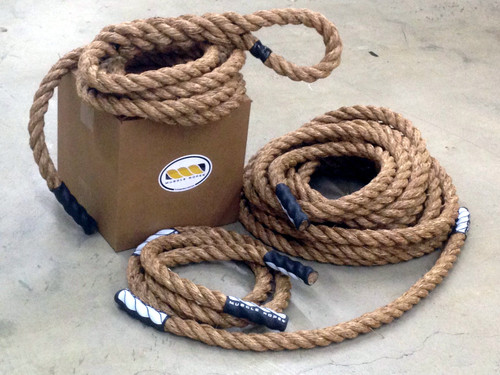OCR Training Pack - Includes Battle Rope, Climbing Rope, Utility Rope & Jump Rope