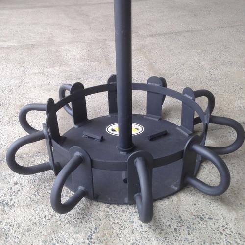 Multi-Station Battle Rope Anchor