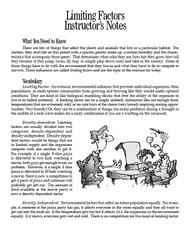 Limiting Factors PDF