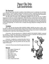 Paper Clip Drip PDF