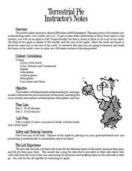 Terrestrial Pie PDF