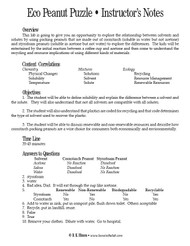 Eco Peanut Puzzle PDF