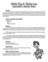 Rubber Eggs & Chicken Legs PDF