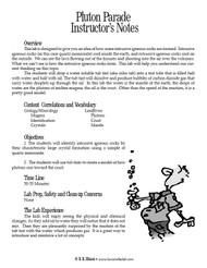 Pluton Parade PDF