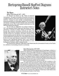 Hertzsprung-Russell StarFest Diagrams PDF