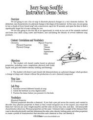 Ivory Soap Souffle PDF