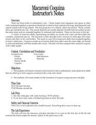 Macaroni Coquina PDF