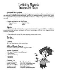 Levitating Magnets PDF