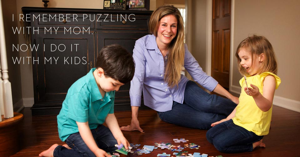 Buffalo Games Family Puzzle Time