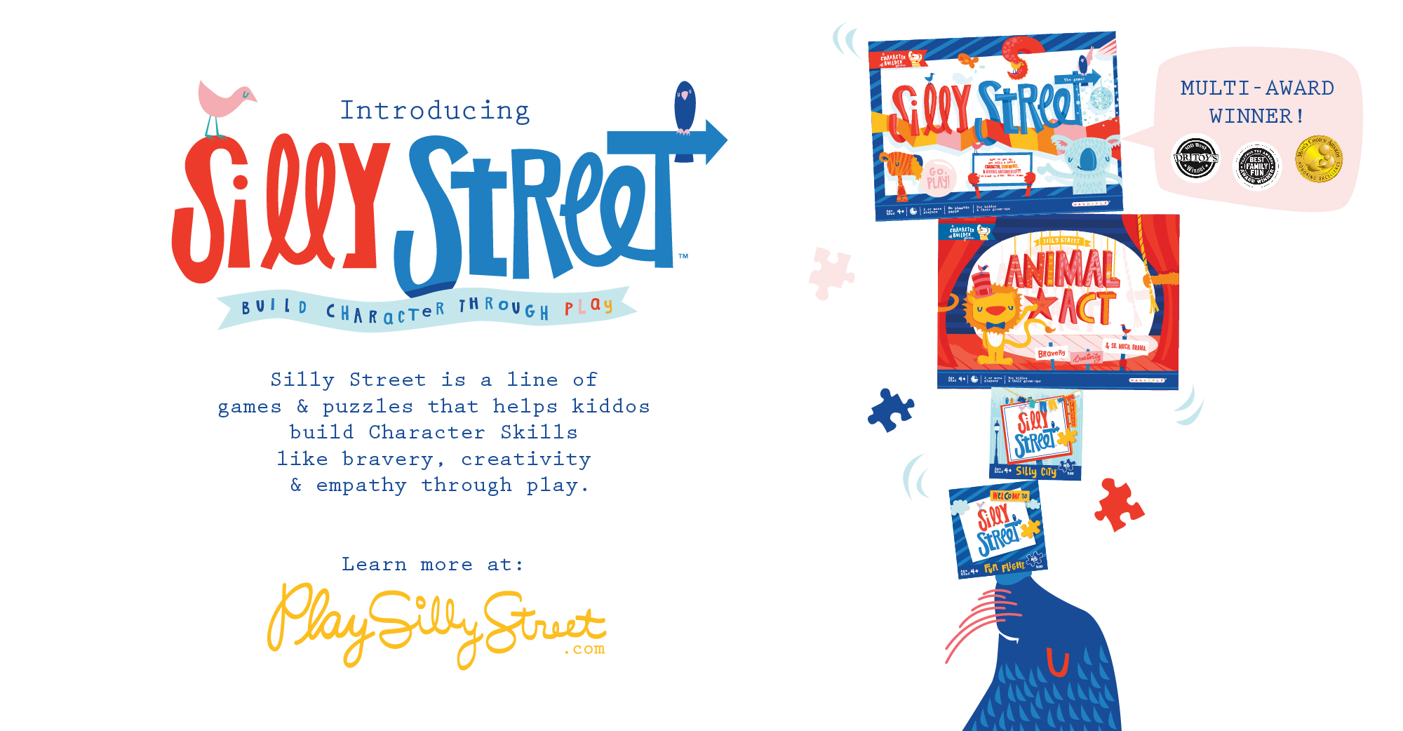 Silly Street Game and Puzzle Lineup