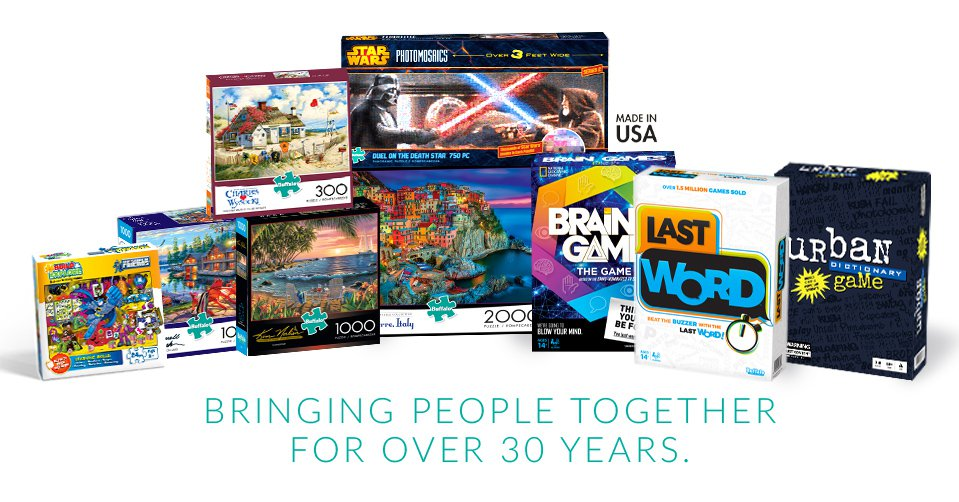 Buffalo Puzzles and Games Offering