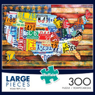Road Trip U.S.A. 300 Large Piece Jigsaw Puzzle Box