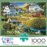 Charles Wysocki Hound of the Baskervilles 1000 Piece Jigsaw Puzzle Box