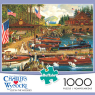 Charles Wysocki Lost in the Woodies 1000 Piece Jigsaw Puzzle