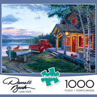 Darrell Bush Cabin Fever 1000 Piece Jigsaw Puzzle Box