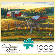 Darrell Bush Harvest Time 1000 Piece Jigsaw Puzzle