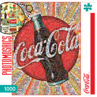 Coca-Cola 1000 Piece Photomosaic Jigsaw Puzzle