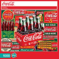 Coca-Cola Evergreen 1000 Piece Jigsaw Puzzle