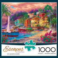 Escapes by Chuck Pinson On Golden Shores 1000 Piece Jigsaw Puzzle