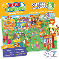 Build & Explore: Adventures at the Carnival 48 Piece Jigsaw Puzzle Box