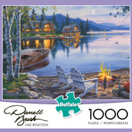 Darrell Bush Lake Reflections 1000 Piece Jigsaw Puzzle