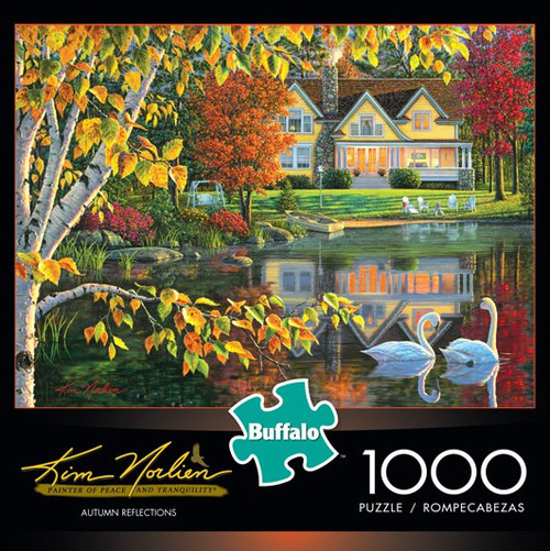 Kim Norlien Autumn Reflections 1000 Piece Jigsaw Puzzle Box