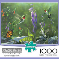 Hautman Brothers Hummingbirds and Hosta 1000 Piece Jigsaw Puzzle Box