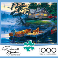 Darrell Bush Silent Shores 1000 Piece Jigsaw Puzzle Box