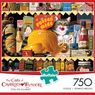 The Cats of Charles Wysocki Ethel the Gourmet 750 Piece Jigsaw Puzzle Box