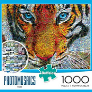 Tiger Photomosaic 1000 Piece Jigsaw Puzzle