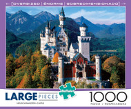 Neuschwanstein Castle 1000 Large Piece Jigsaw Puzzle