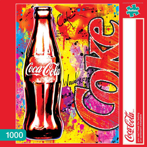 Coca-Cola You Can't Beat the Feeling 1000 Piece Jigsaw Puzzle Box